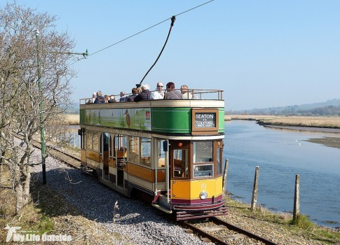 Seaton and Colyton Tram in the Axe Valley